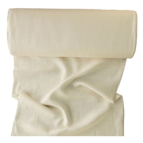 Ivory, hairless, linen backing for rug hooking